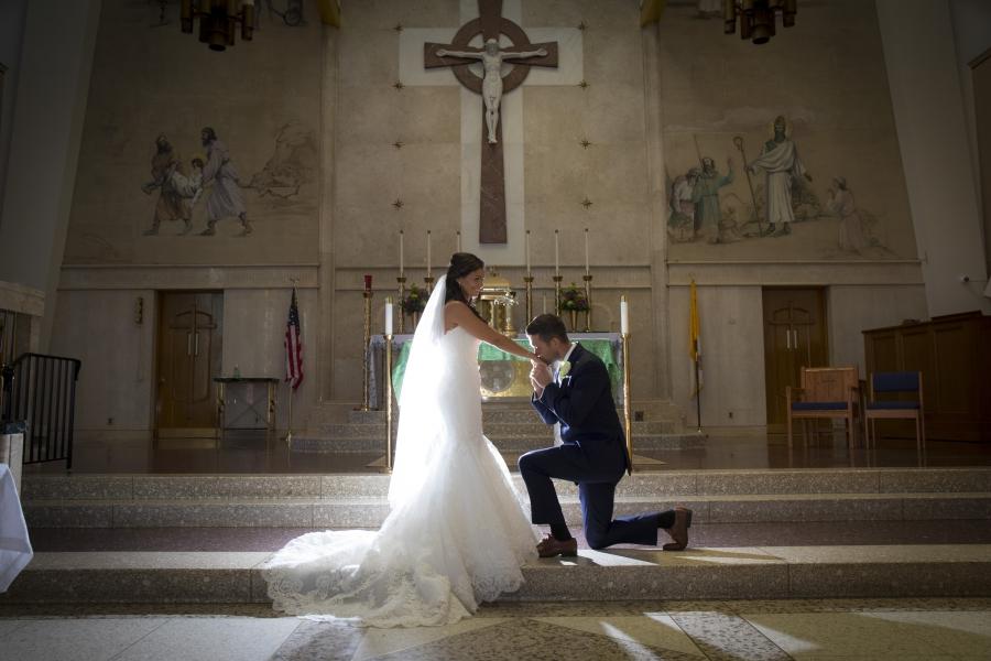 Gina and James - Real Weddings Long Island, NY