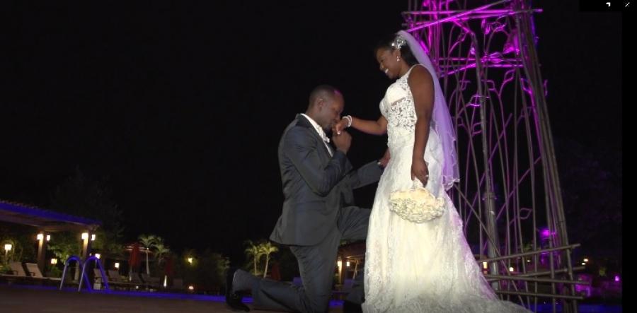 Kenya and Evens - Real Weddings Long Island, NY