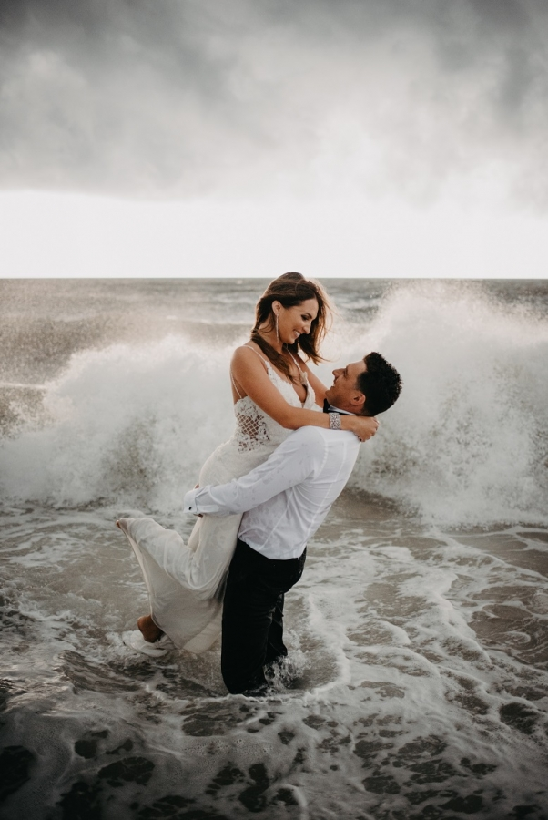 Agnes and Lukasz - Trash the Dress - Real Weddings Long Island, NY