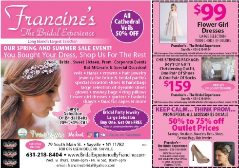 Francine's Bridal Experience