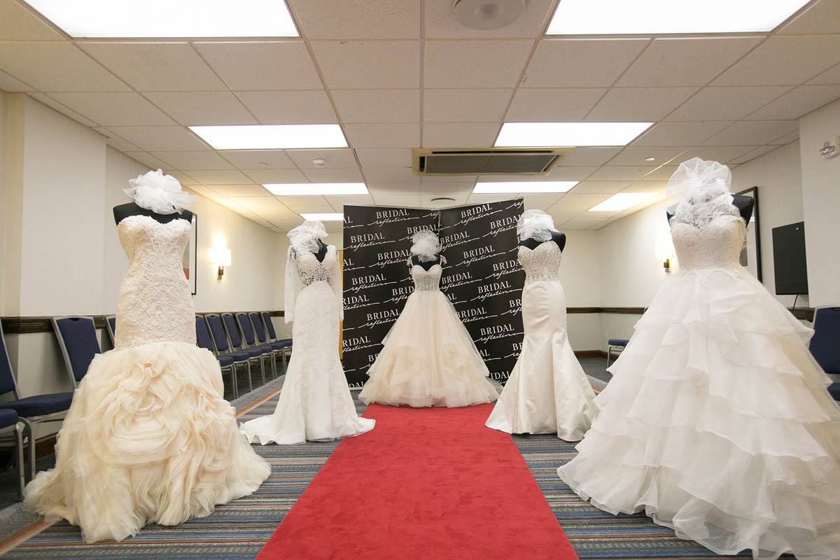 Bridal Extravaganza Gown Lounge by Bridal Reflections