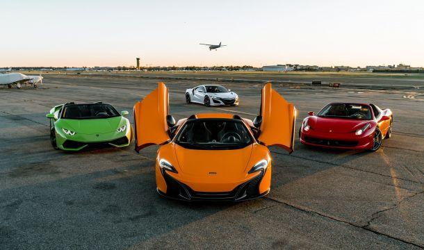 Cloud 9 Exotics:  Long Island Luxury Car Rentals for your Dream Wedding