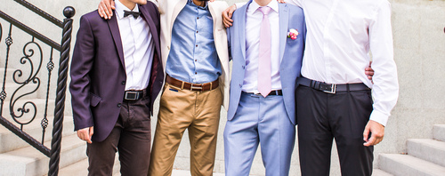 Suit Your Style: Tailored Suits For The Groom And His Guys