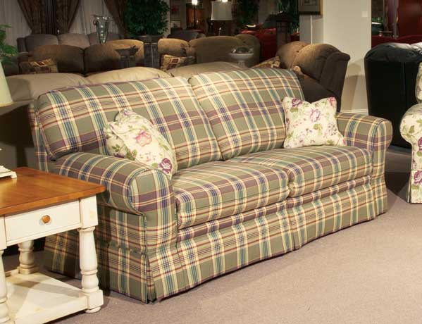 brides helping brides anyone have plaid couches. Black Bedroom Furniture Sets. Home Design Ideas