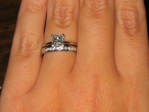 Wedding Rings To Match Solitaire