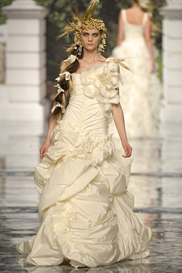 Brides helping brides pls post pictures of nature for Nature inspired wedding dresses