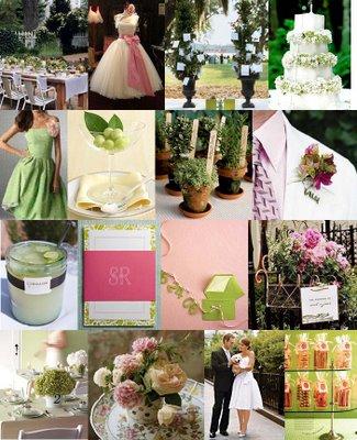 Brides Helping Brides Pink Light Green Liweddings